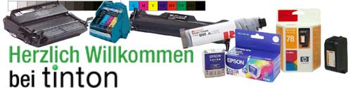 Zum Onlineshop für Tinte und Toner: tinton.de